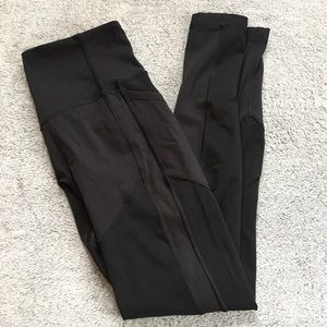 Lululemon Black High Rise Pocket Legging